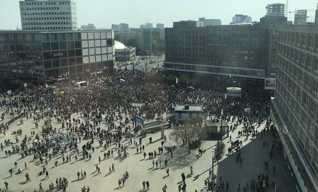 تظاهرات مردم آلمان در اعتراض به افزایش اجارهبهاء مسکن